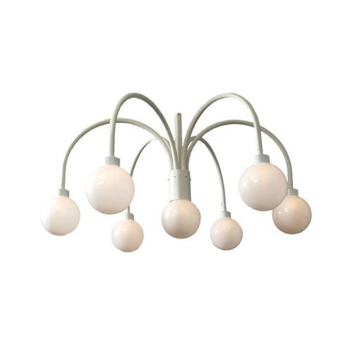 Crown Light White With Globe 250 Mm Ø